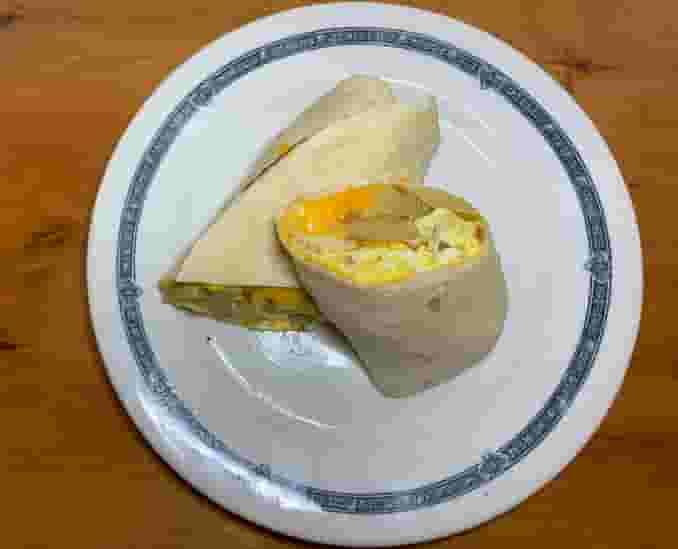 The Bighorn Breakfast Burrito