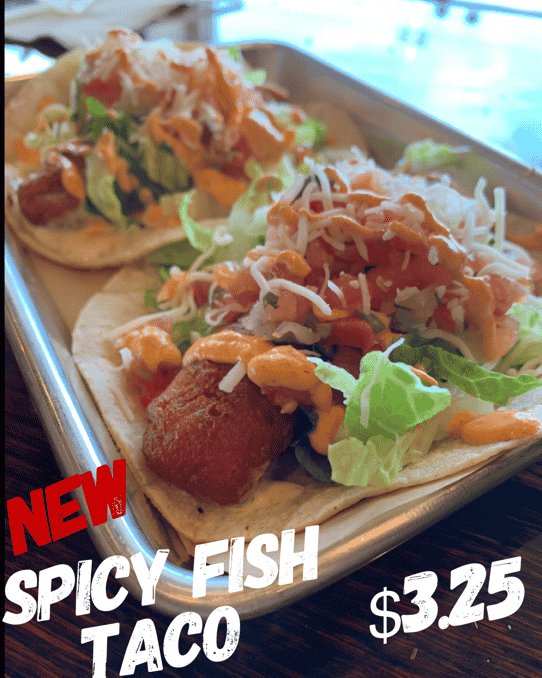Spicy Fried Fish Taco