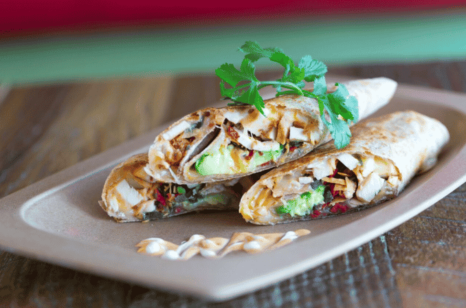 PANCHOS GRILLED AND ROLLED QUESADILLA