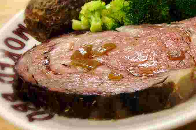 Slo-Smoked Prime Rib (Note: We apologize; we are out of Prime Rib for Sunday, 4/5)