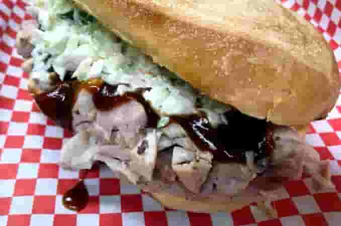Pulled Chicken BBQ Sandwich