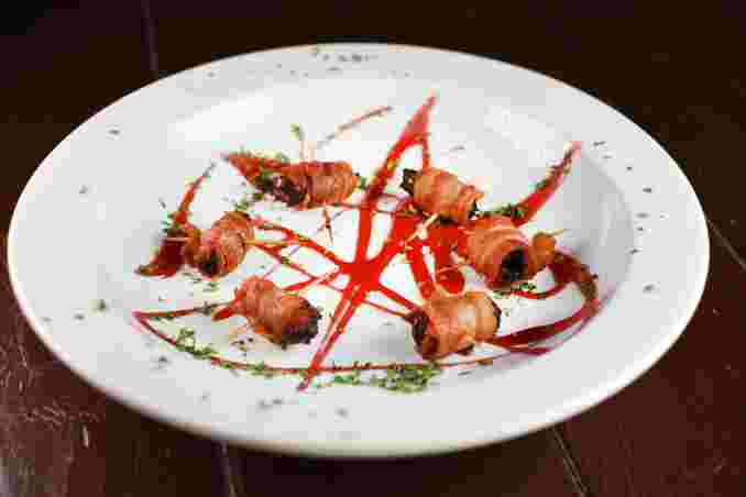 BACON WRAPPED MEDJOOL DATE BITES