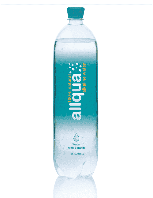 Allqua Natural Alkaline Bottled Water