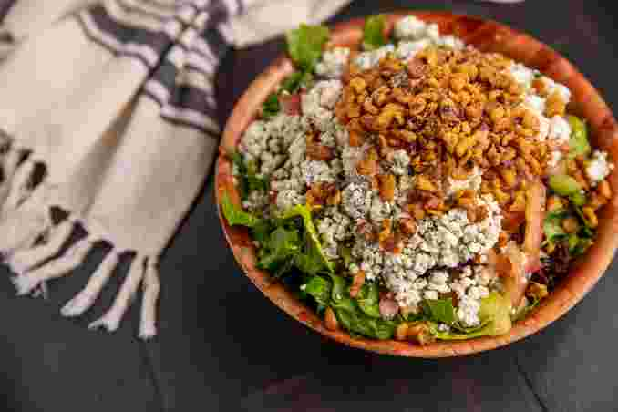 Bleu Cheese Walnut Salad
