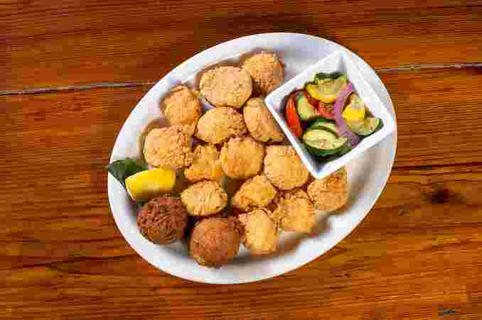 Scallops Platter