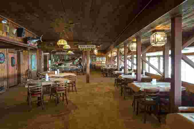 Dining Hall at The Fish Dock