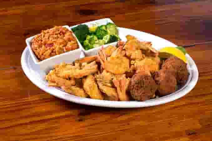 Captain's Shrimp Platter
