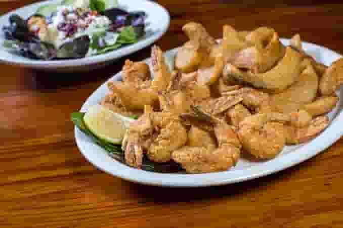 Crew's Shrimp Platter