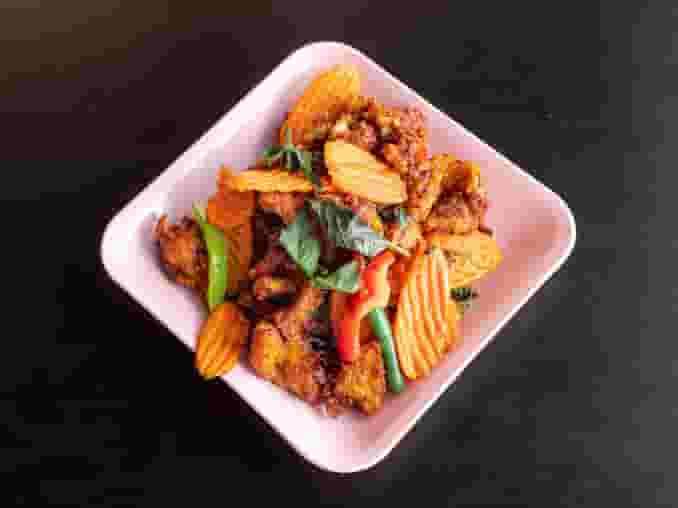 1. Spicy Eggplant w/ Beef