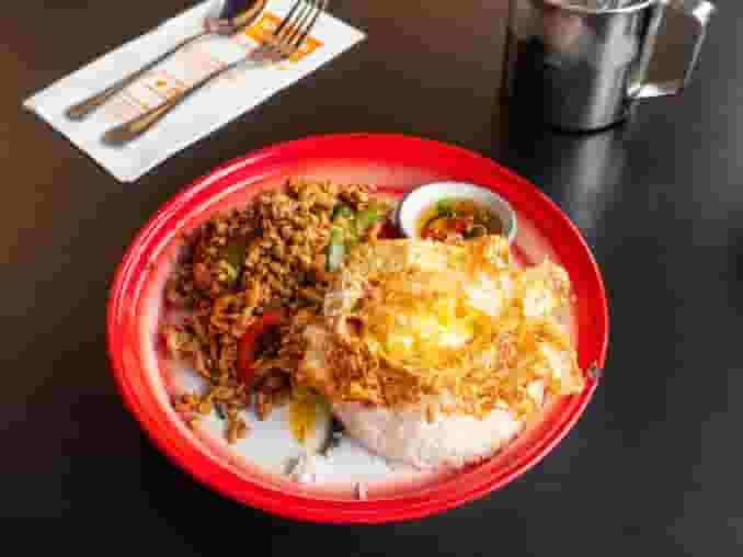 63. Khao San Holy Basil Chicken