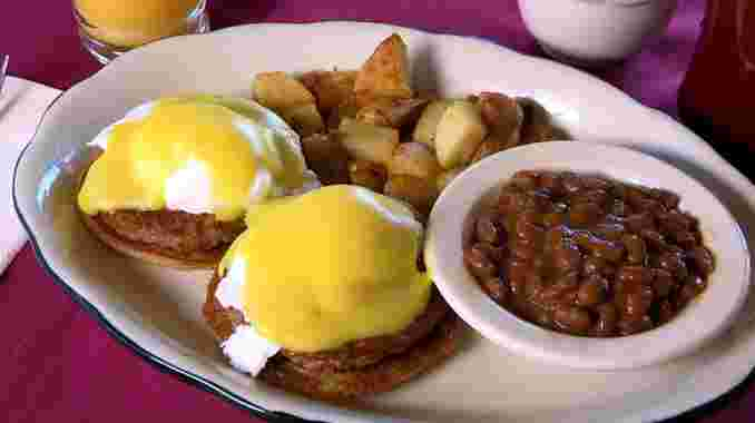 Sausage Patty Benedict