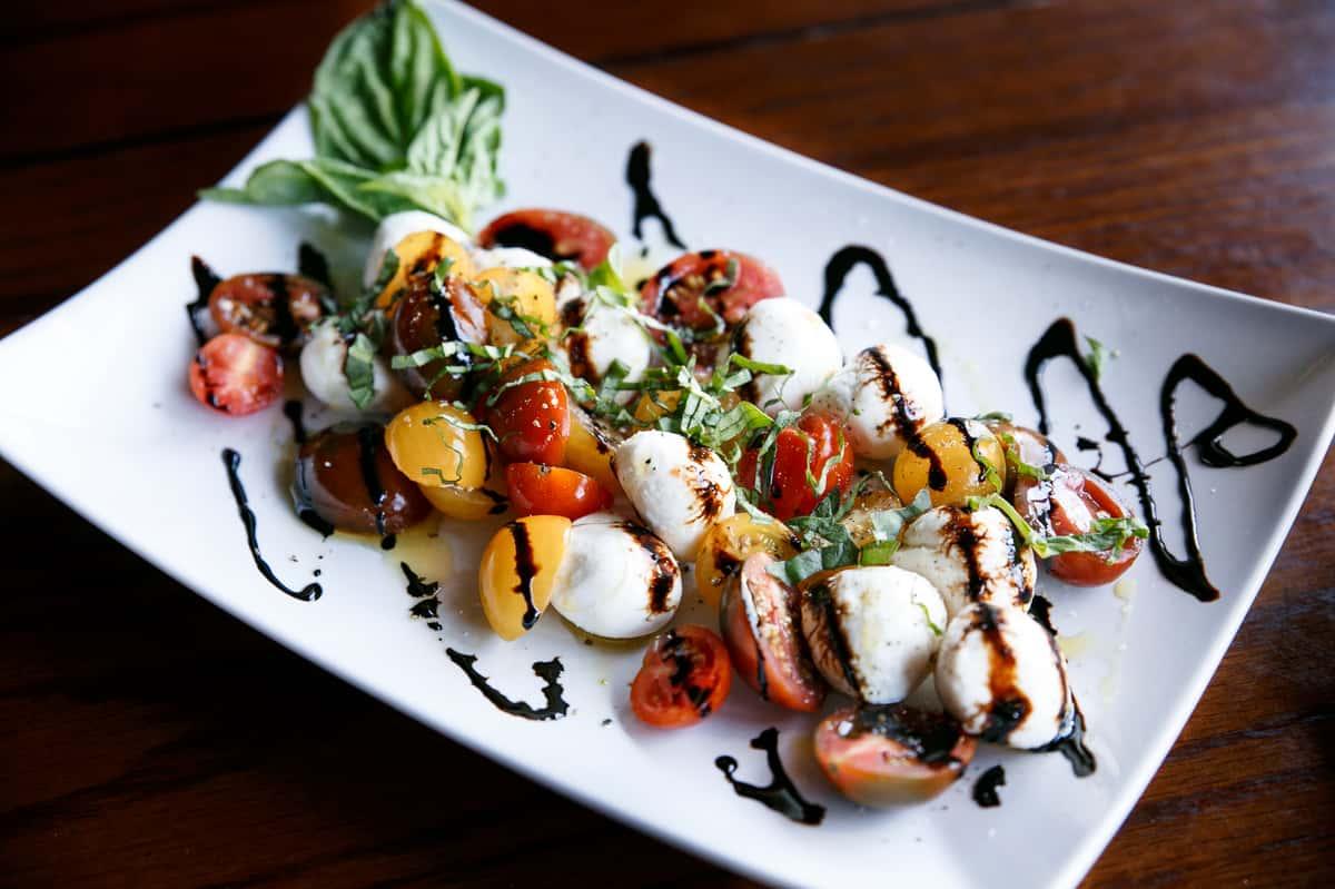 Tomato & Fresh Mozzarella Salad