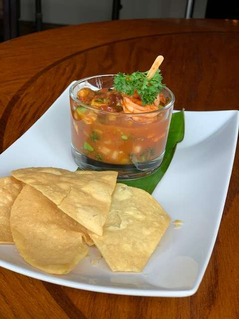 Smoked Shrimp Ceviche Special