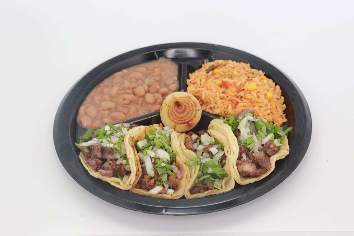 4 Tacos Plate