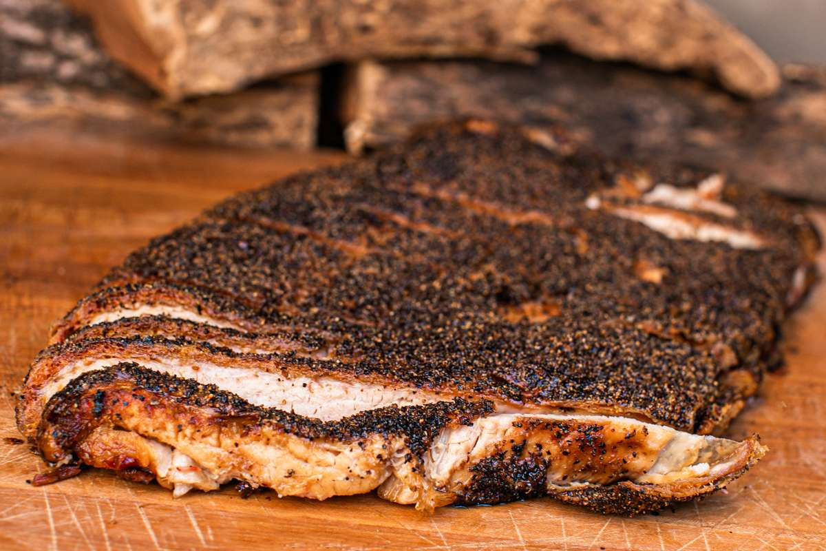 Smoked Pork Belly by the pound