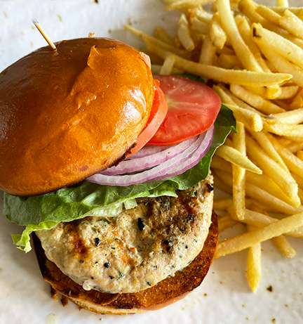 Free-Range Turkey Burger