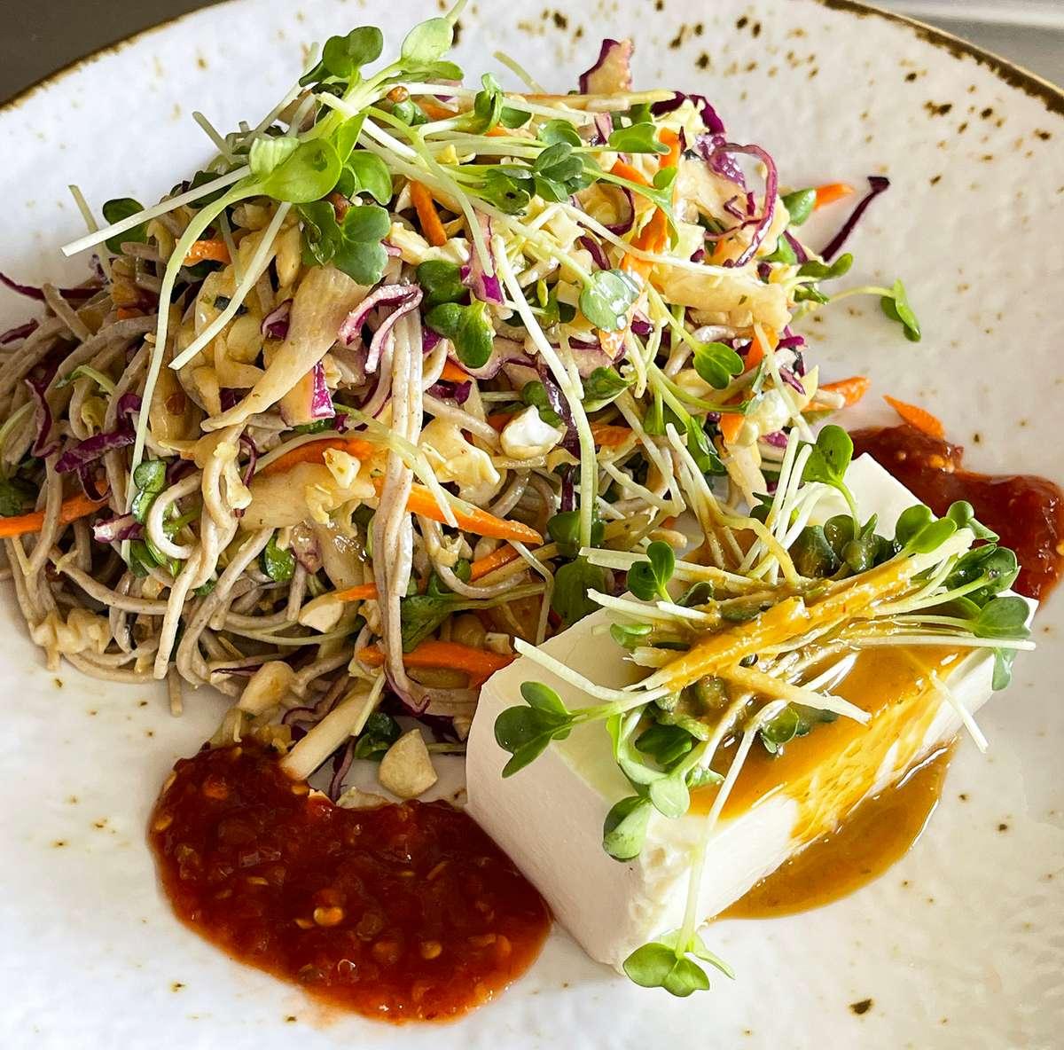 Soba Noodle & Tofu