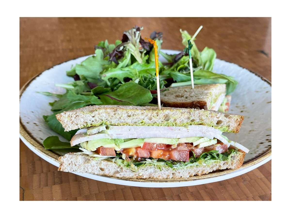 Turkey Breast & Avocado Sandwich