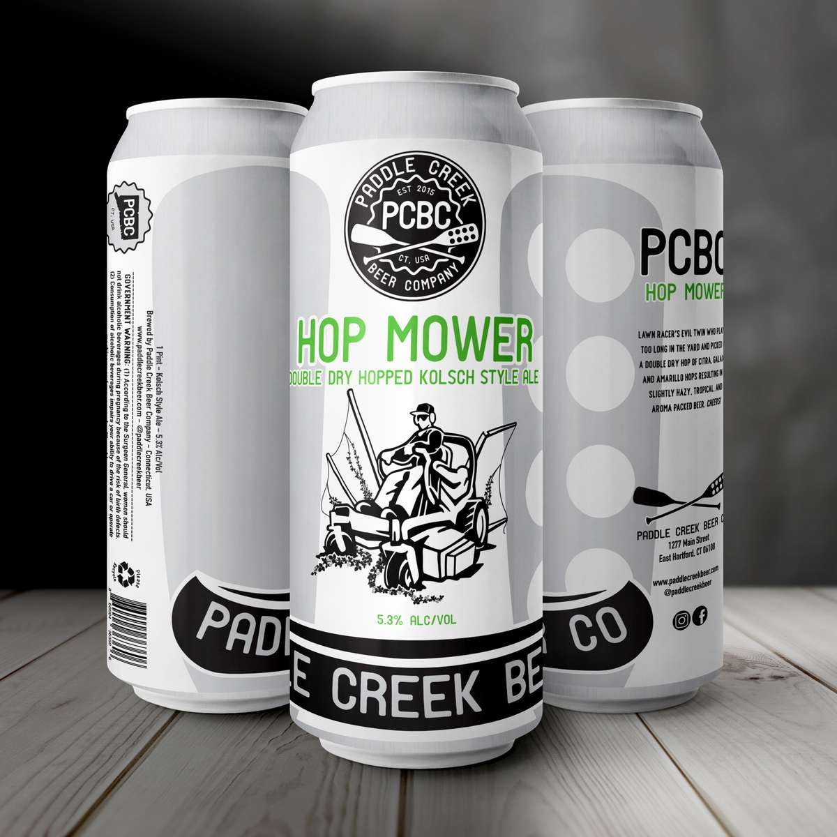Hop Mower