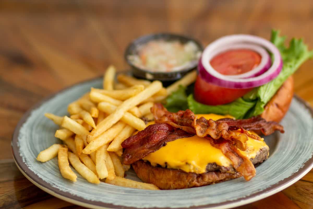 1/2 LB Fresh Chargrilled Burger