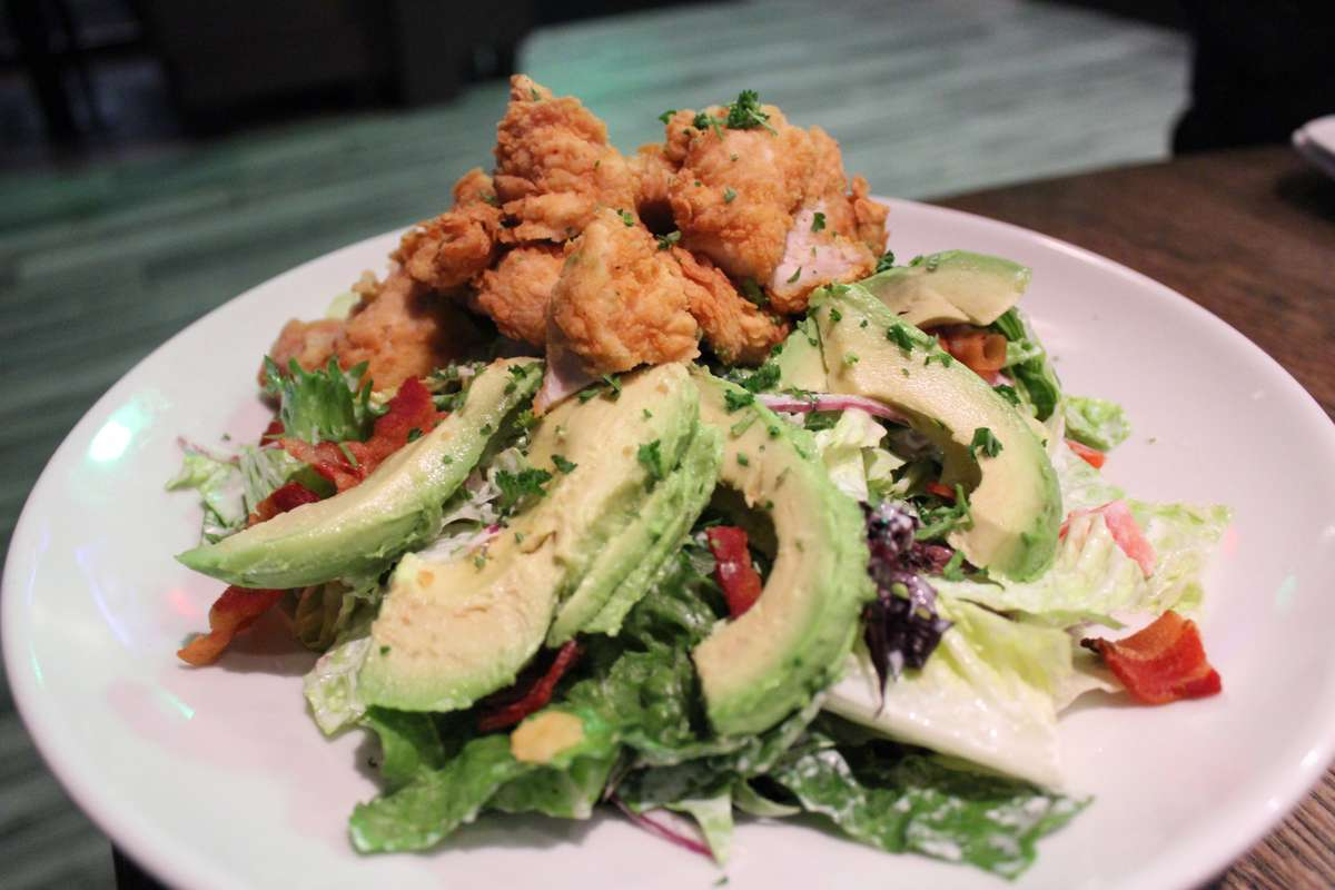 Chicken Club Salad