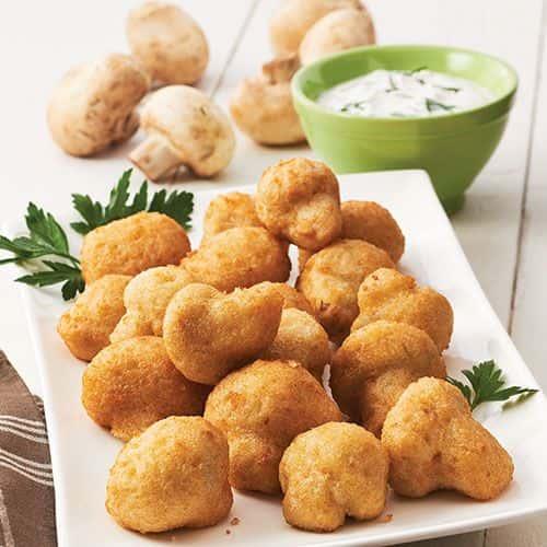 Fried Mushrooms**