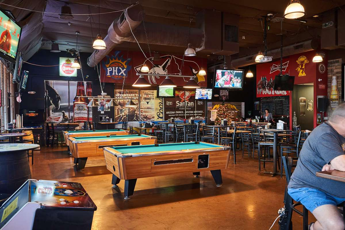 Interior of True Grit Tavern