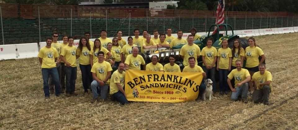 Ben franklin baseball team