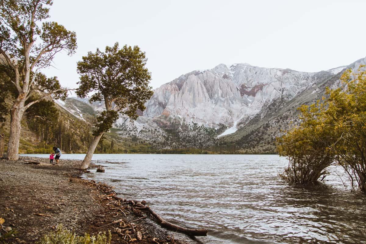 Convict Lake near Mammoth Rock 'N' Bowl