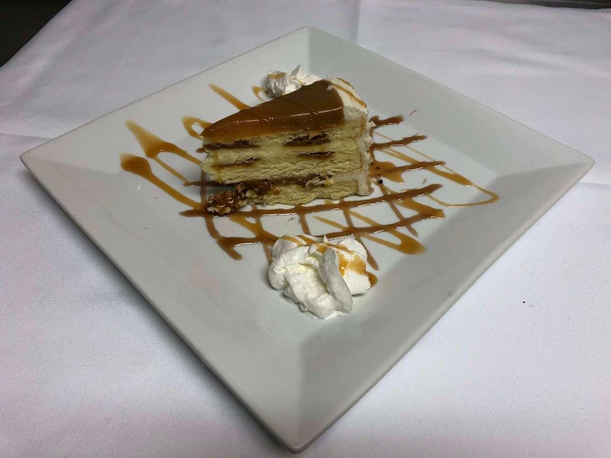 Salted Caramel Cake 6.95