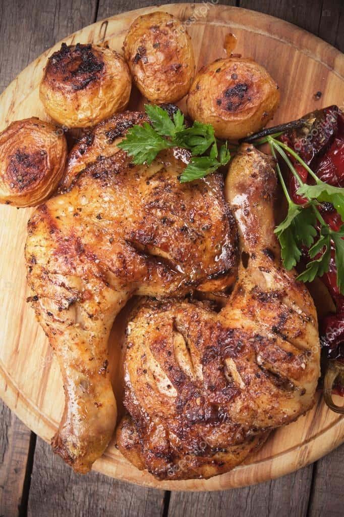 Rotisserie Chicken Quarter