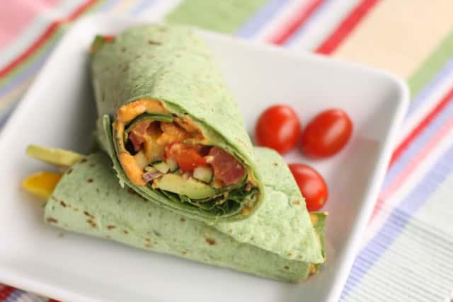 Mediterranean Wrap (Vegetarian)