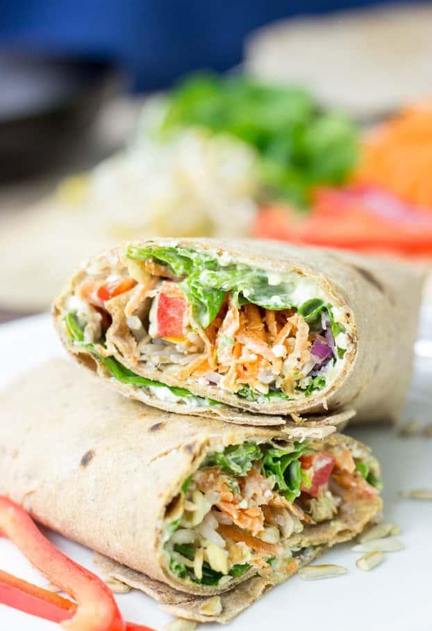Veggie Wrap (Vegetarian)