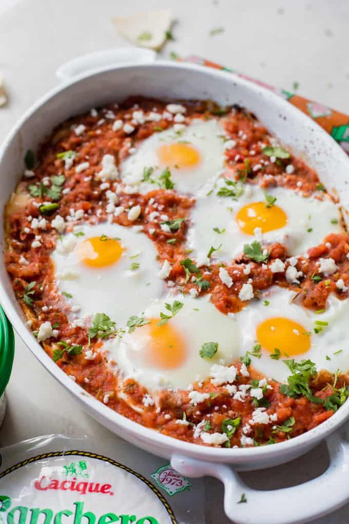 Ranchero Egg Casserole