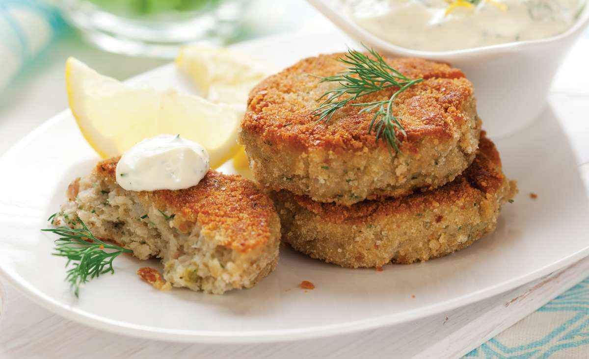 Miniature Maryland Crab Cakes
