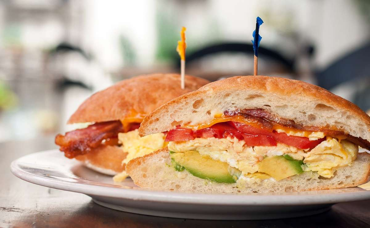 bfast sandwich