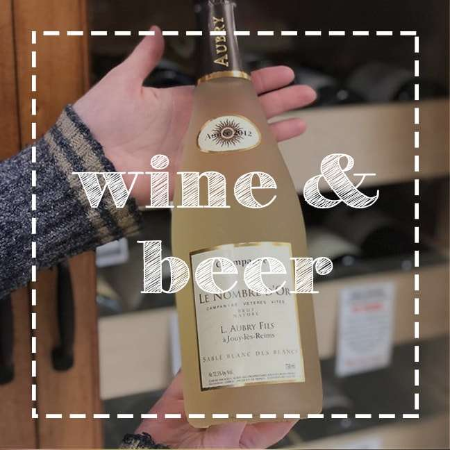 wine and beer button