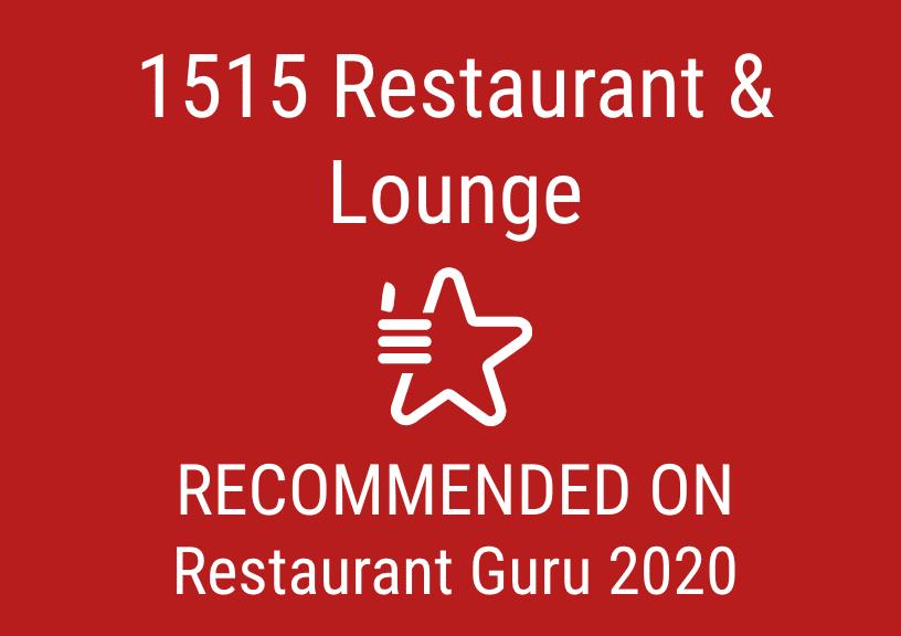 2020 Restaurant Guru Award