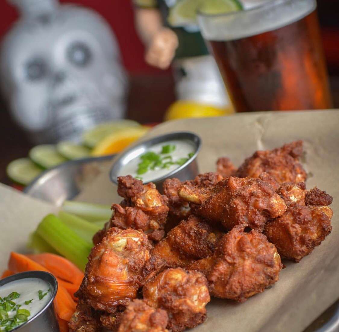 Salt & Pepper Wings (6)