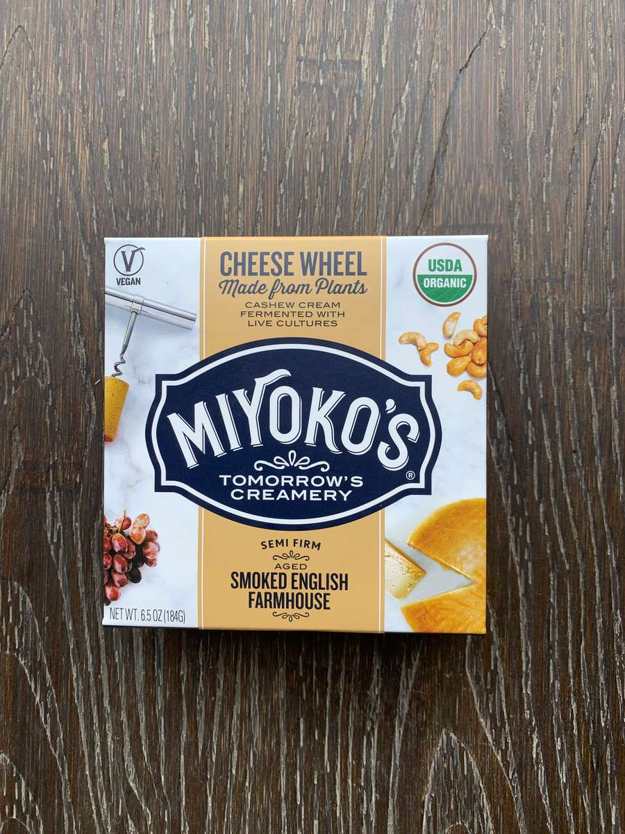 Organic Miyoko's Smoked English Farmhouse Wheel
