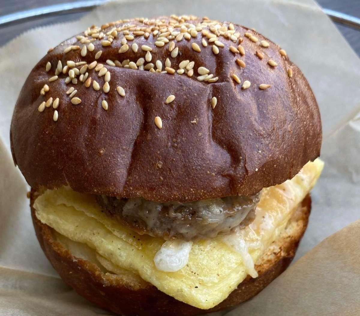 Brioche Breakfast Sandwhich
