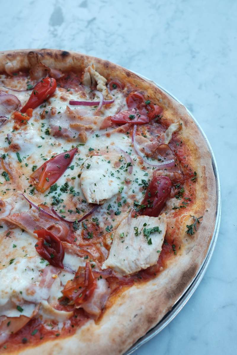 Chicken & Pancetta Pizza