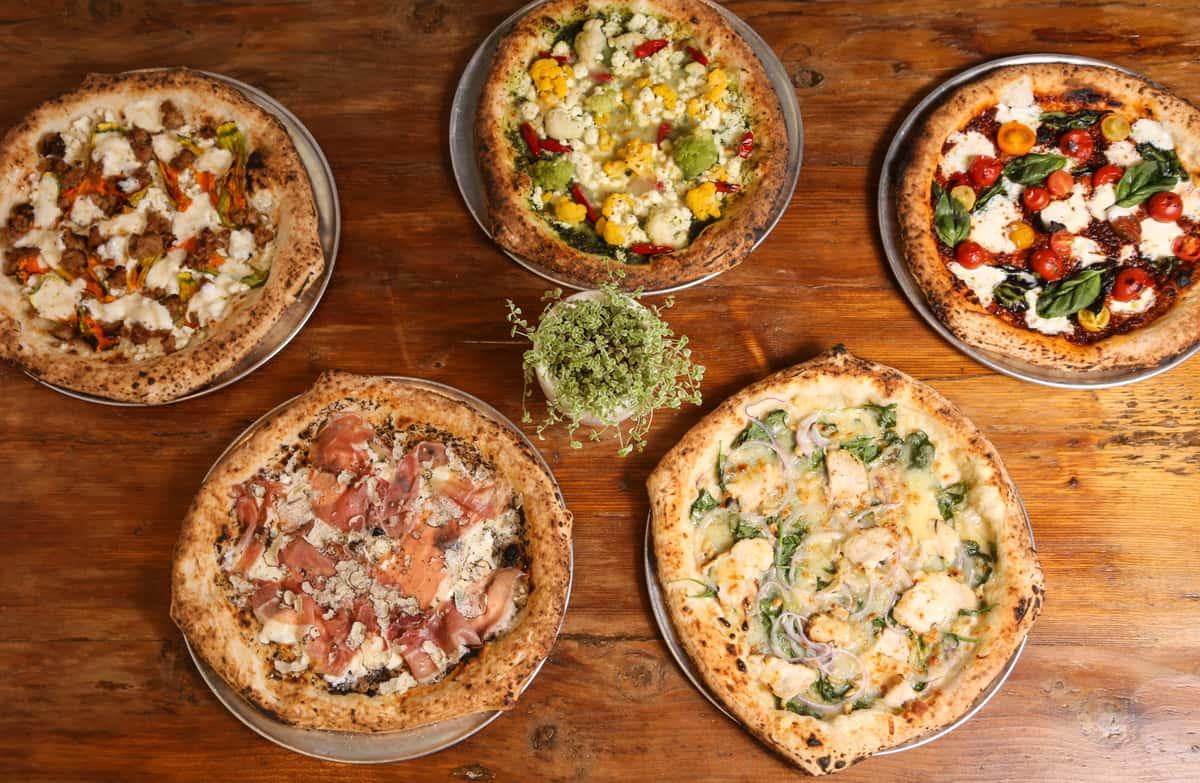 Pizza assortment