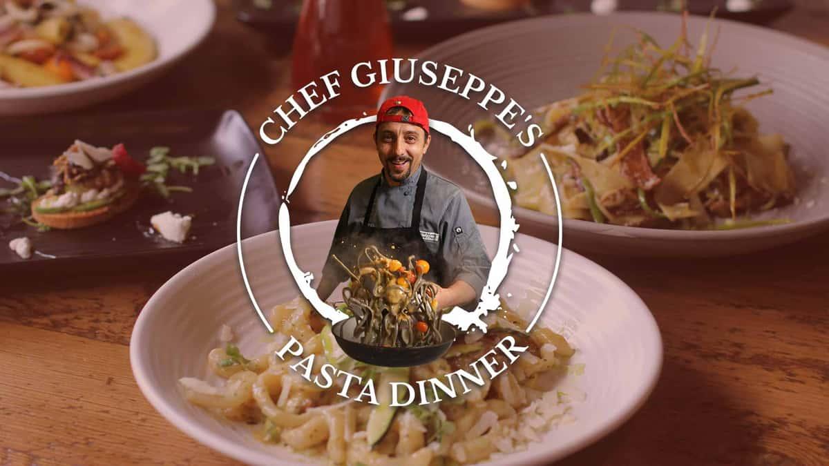 Chef Giuseppe's Pasta Dinner