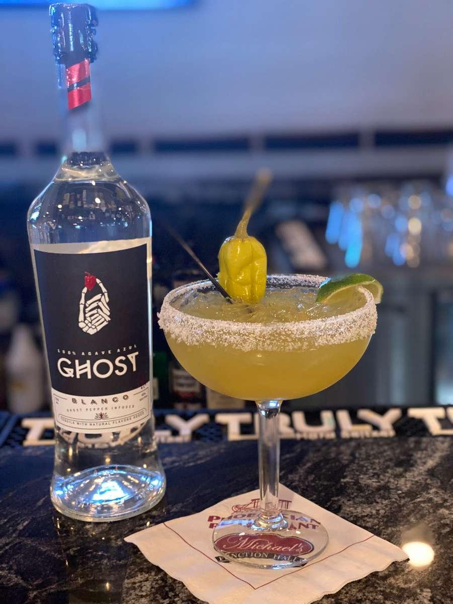 Spicy Ghost Margarita