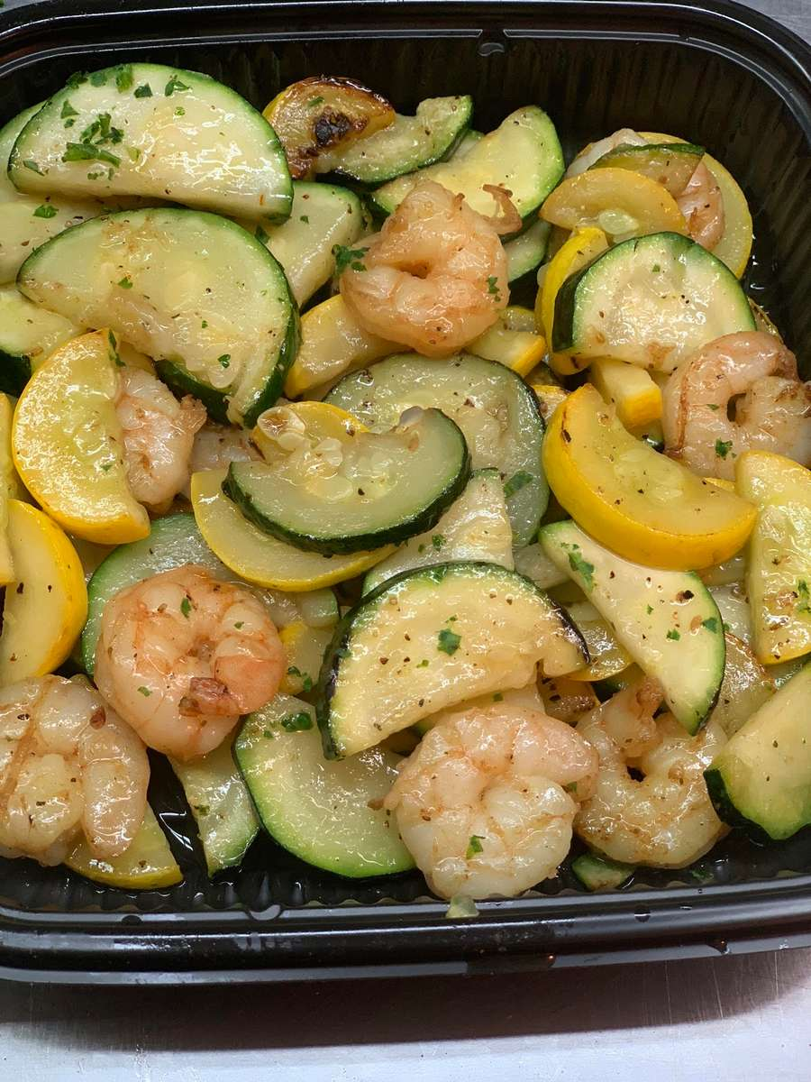 Gluten Shrimp & Veggies