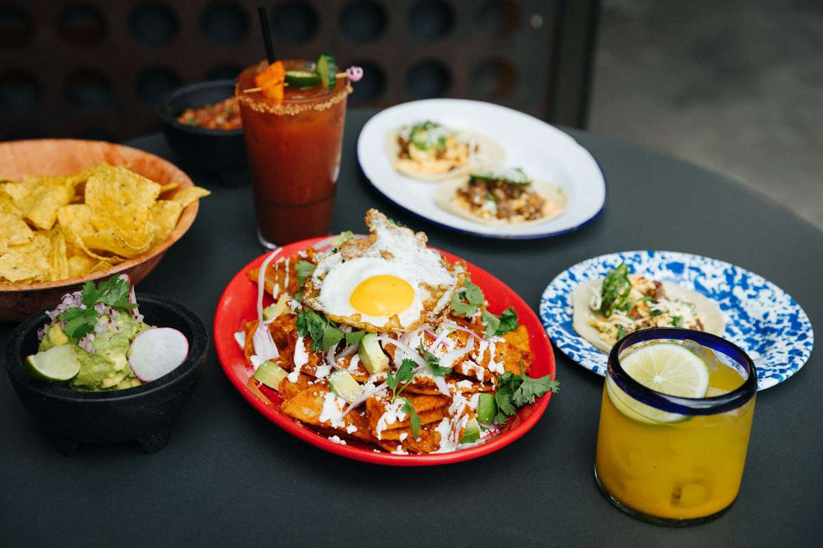 tacos and other dishes