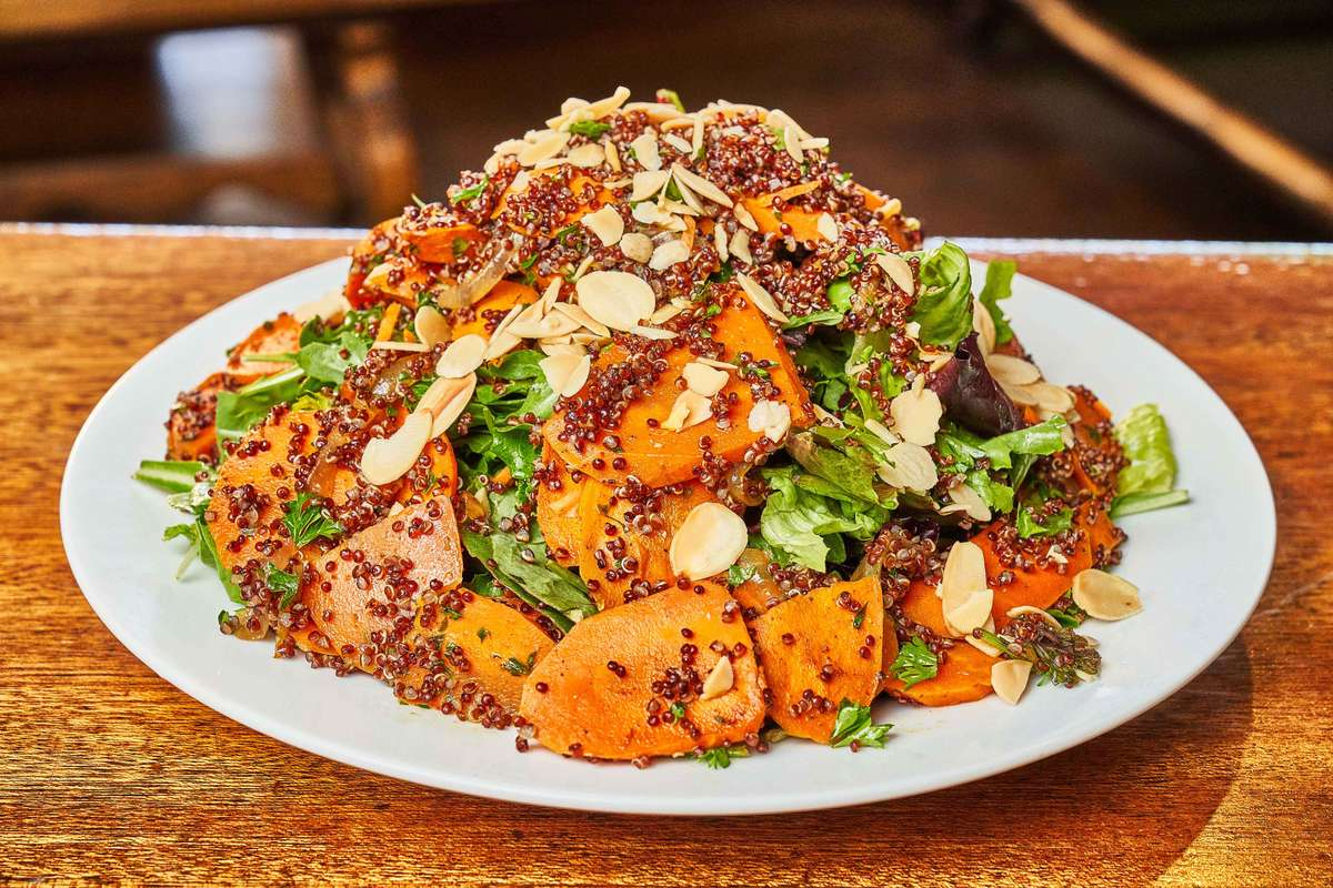 moroccan roasted carrot salad