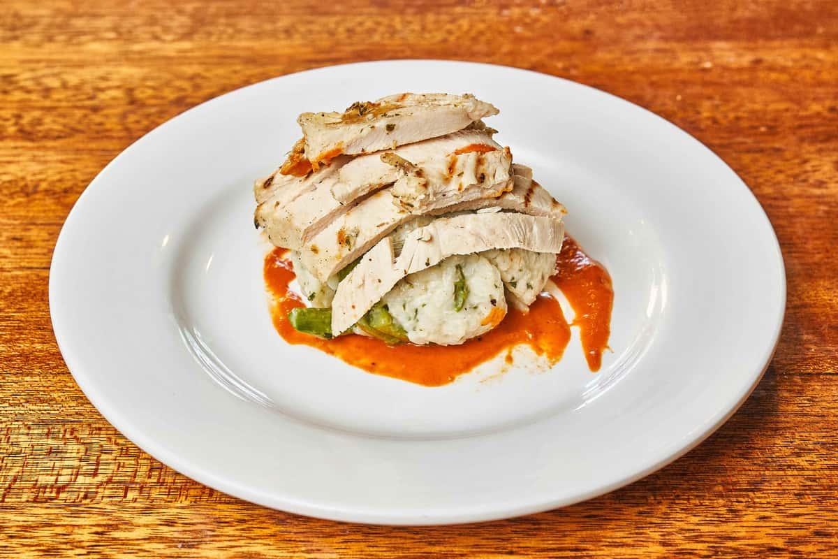 Grilled Chicken & Asparagus