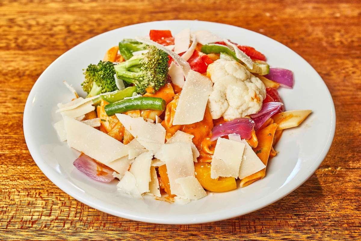 Pasta with Sauteed Vegetables